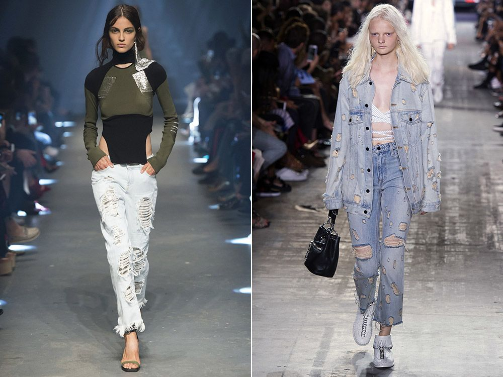 Ripped jeans spring-summer 2017