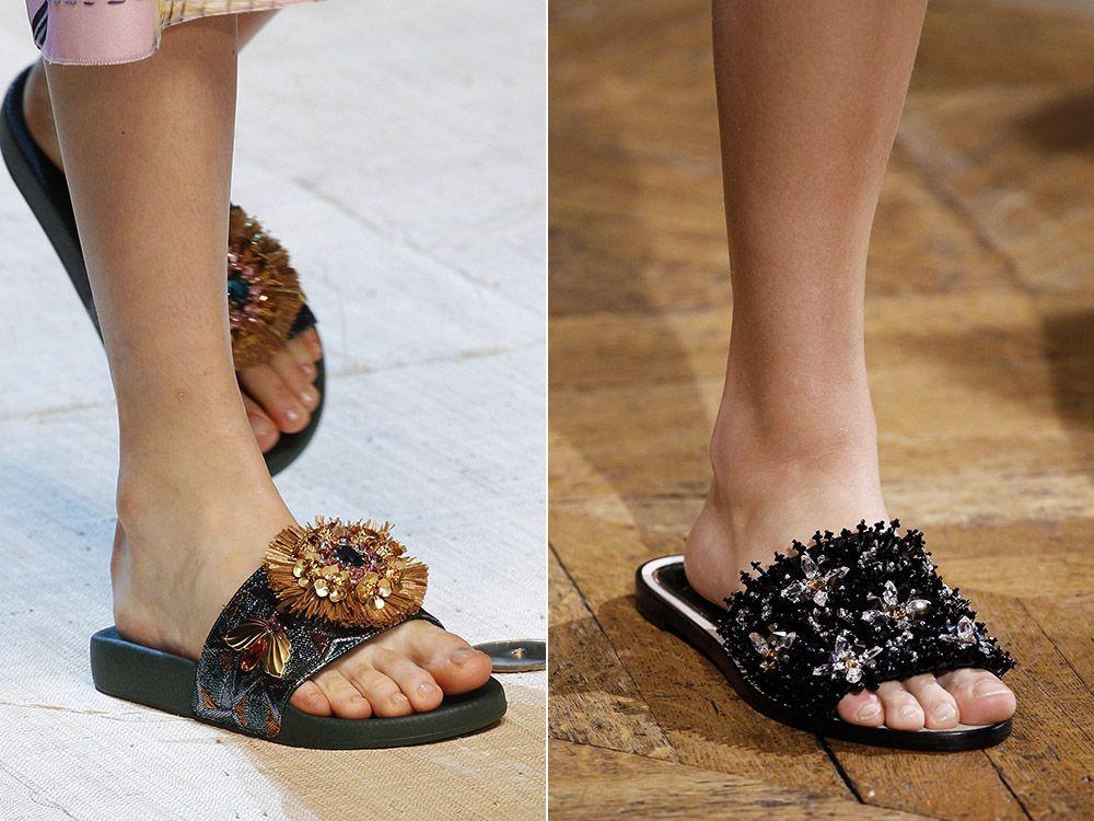 Slippers spring-summer 2017