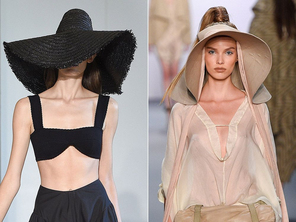 Hats and visors spring-summer 2017