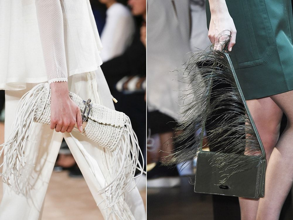 Чанти с ресни: Balenciaga, Nina Ricci