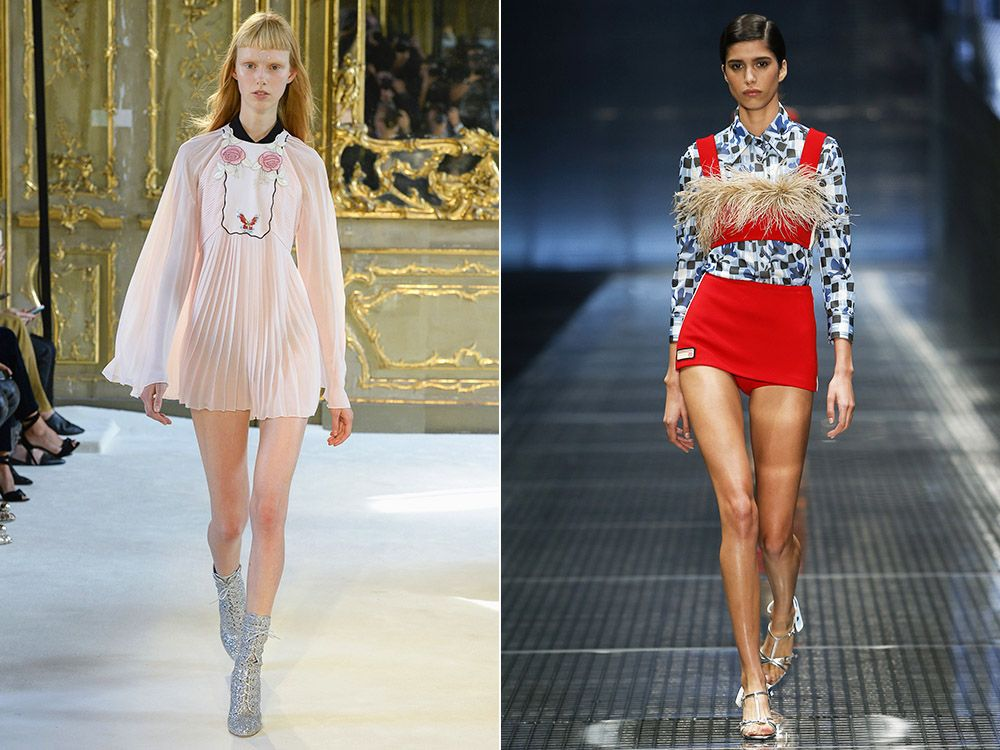 The trend of mini spring-summer 2017