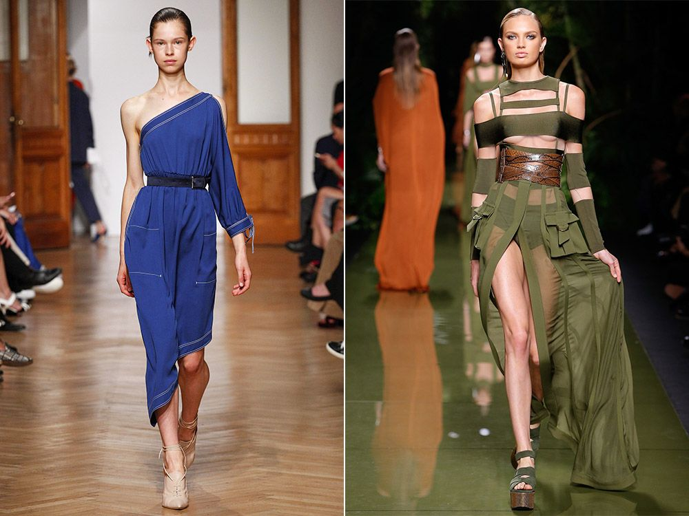 The trend of open shoulders spring-summer 2017