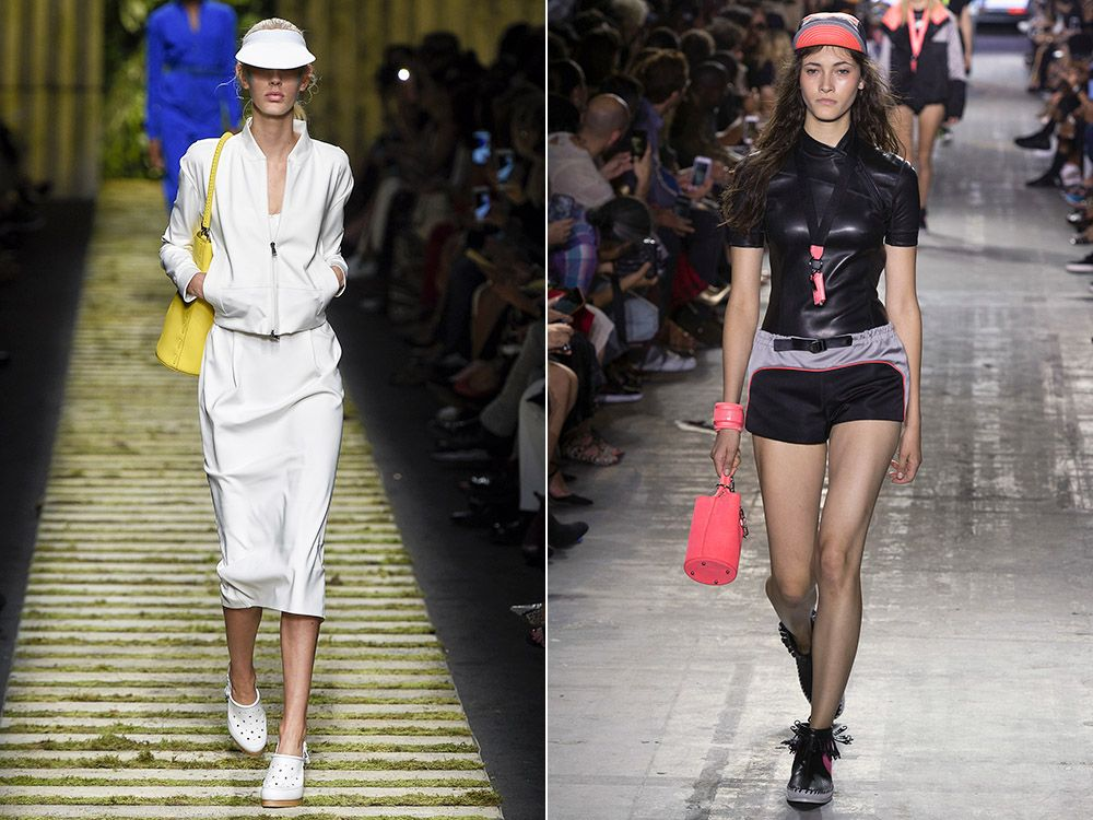 The trend of sport is spring-summer 2017