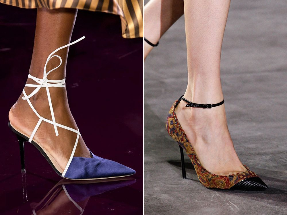 Shoes from textile spring-summer 2017