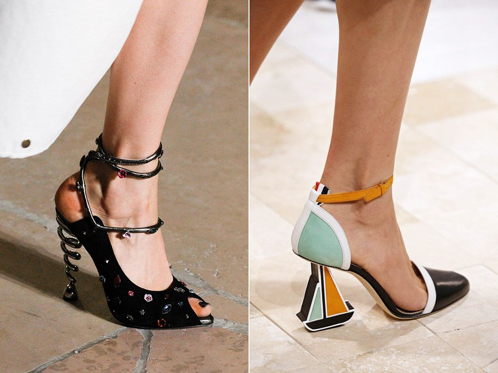 Unusual shoes spring-summer 2017