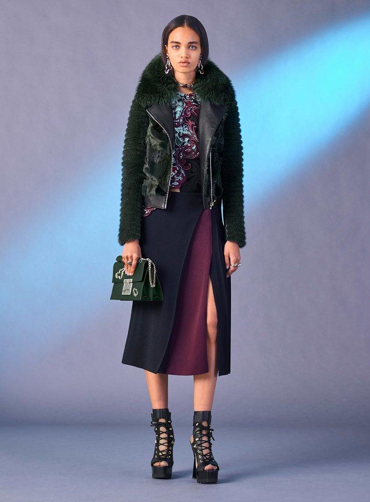 Versace пред есента 2017 г. снимка №22