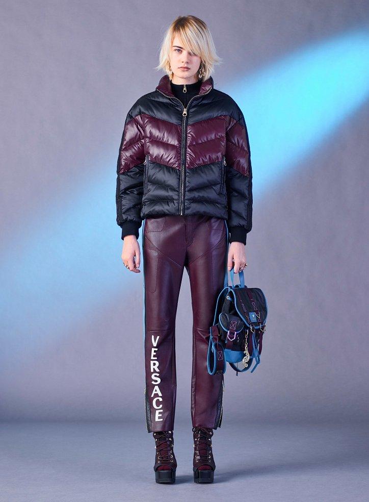 Versace пред есента 2017 г. снимка №28