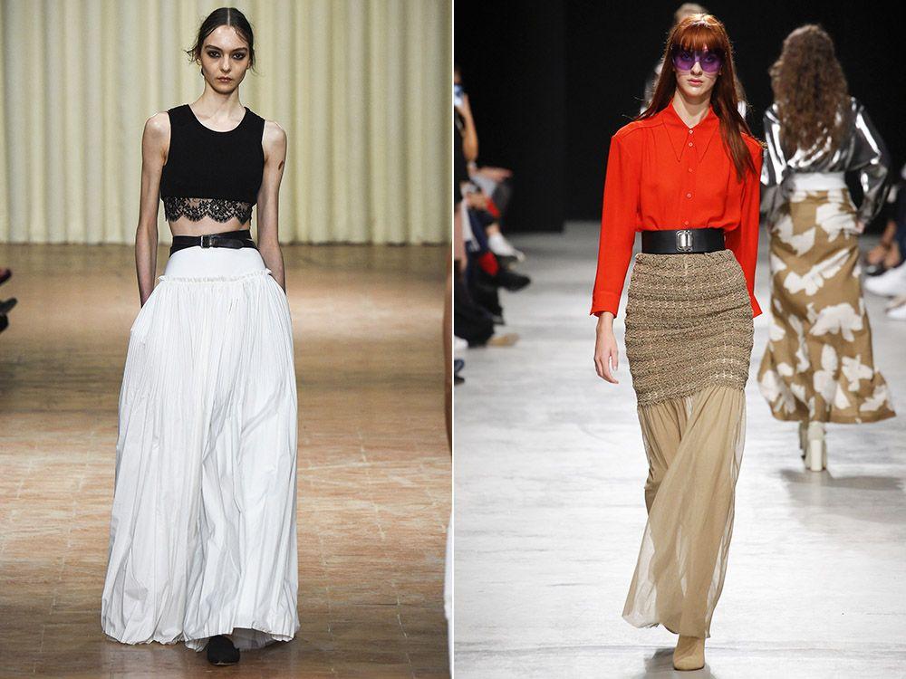 Maxi skirt spring-summer 2017