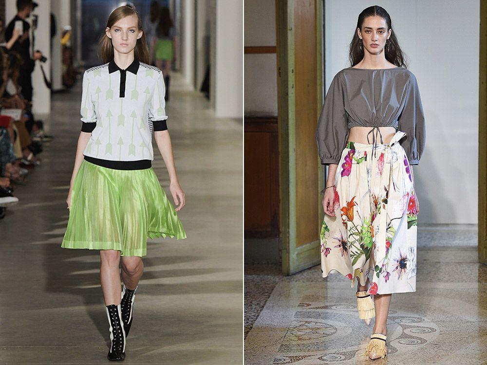 Skirt-sun spring-summer 2017