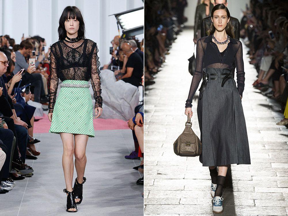 A-line skirt spring-summer 2017