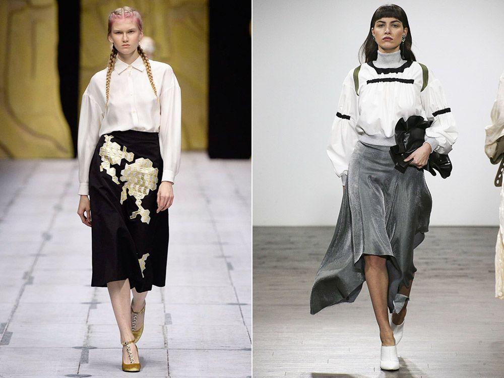 Skirts for full spring-summer 2017