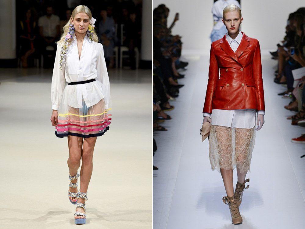Модни поли пролет-лято 2018: модерни стилове, снимка-4