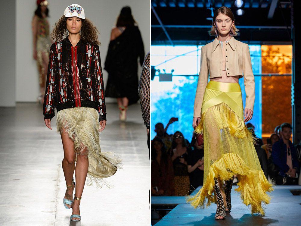 Модни поли пролет-лято 2018: модерни стилове, фото-10