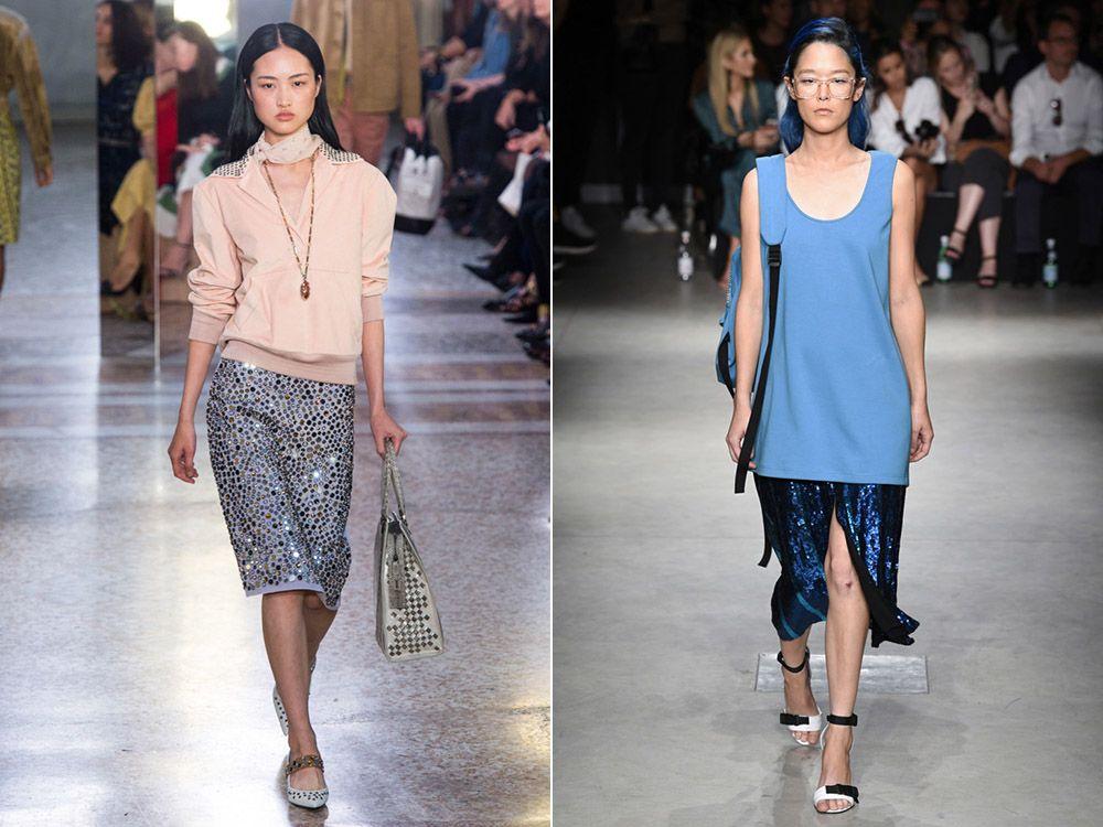 Модни поли пролет-лято 2018: модни стилове, снимка-8