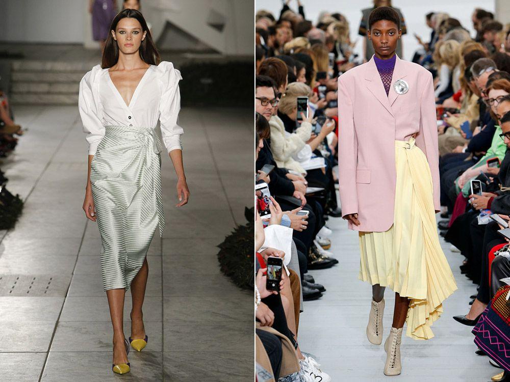 Модни поли пролет-лято 2018: модни стилове, снимка-14