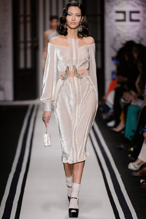 velvet-dress-altuzarra_elisabetta_franchi - 24beautysummary.com