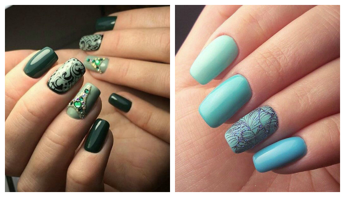 80 nail designs 2017: trends and new products