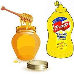 Mustard Honey Wrap