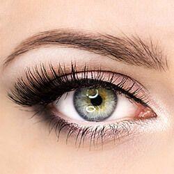 Как да оцветите тясно поставени очи