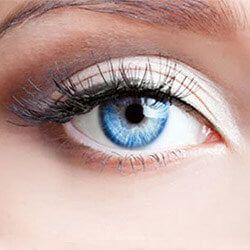 Как да оцветите кръгли очи