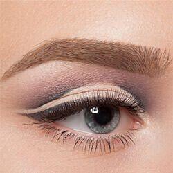 Как да оцветите подпухнали очи