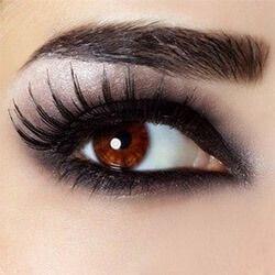 Как да оцветите широко поставени очи