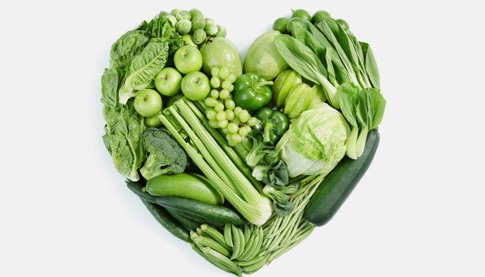 Зелени зеленчуци и плодове