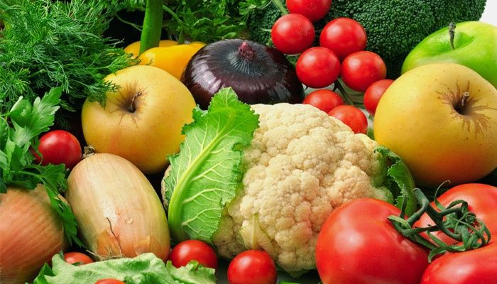 Vegetables and fruits in medical nutrition