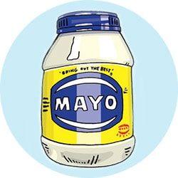 Lightening mayonnaise