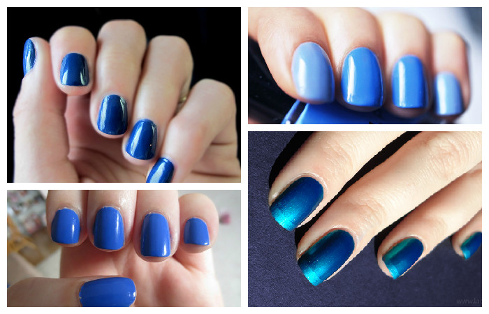 Gradient manicure at home: step by step instructions with a photo