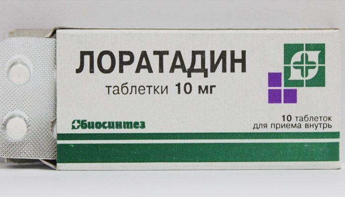 Loratadine tablets for the treatment of seborrheic dermatitis