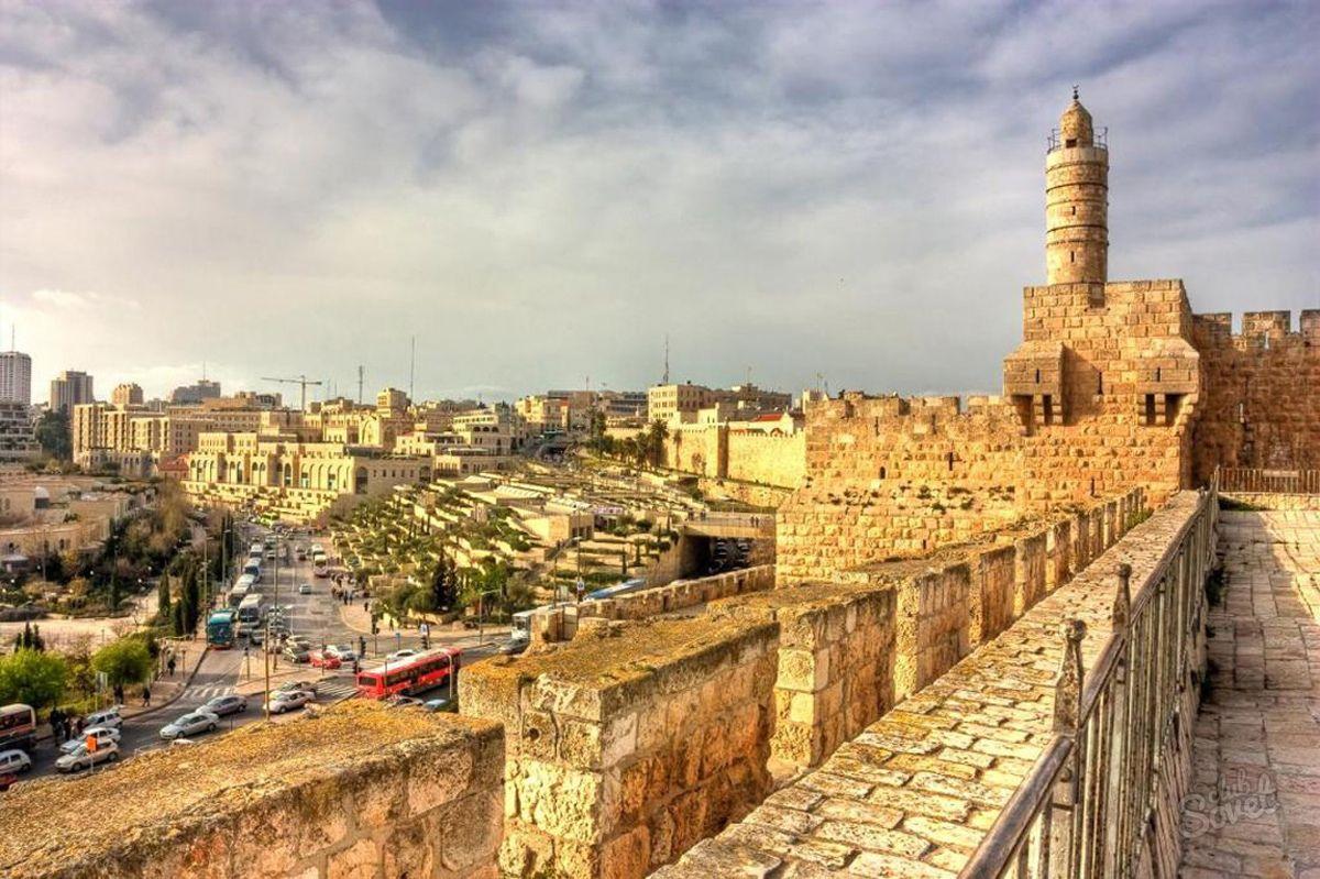 Panorama of the_Tower of David_ in_Jerusalim