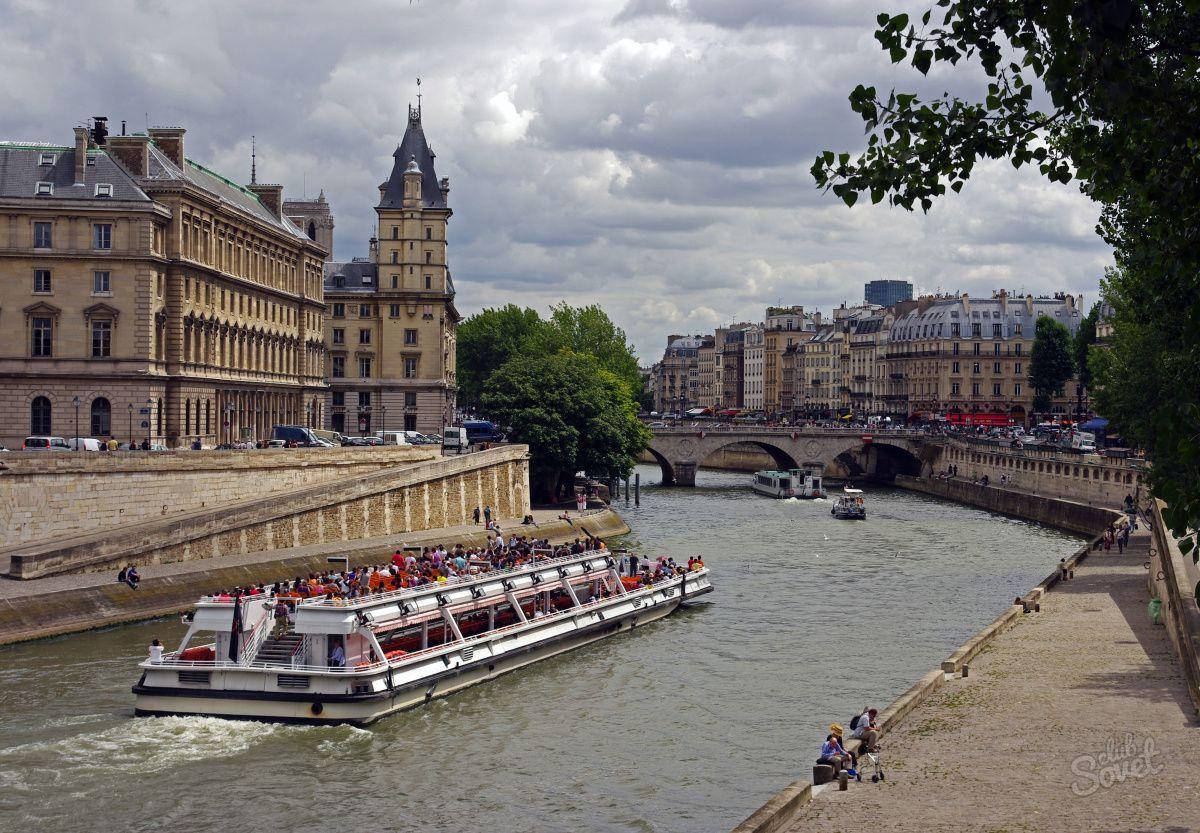 Seine Paris - France