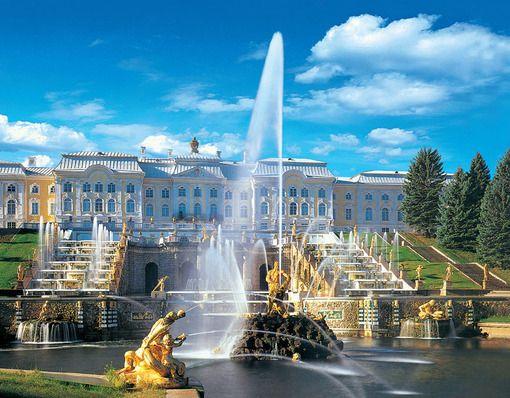 Peterhof Fountains2