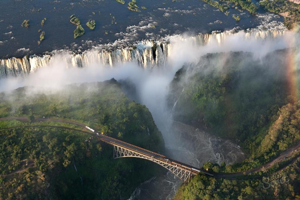 Водопад Виктория, Замбия (1)