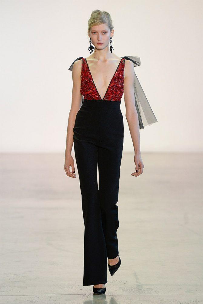 Fashion_ trousers_ fall_winter_ 2019_badgley_mischka