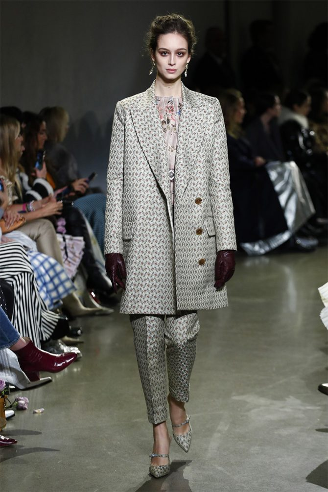 Fashion_ trousers_ fall_winter_ 2019_brock_collection