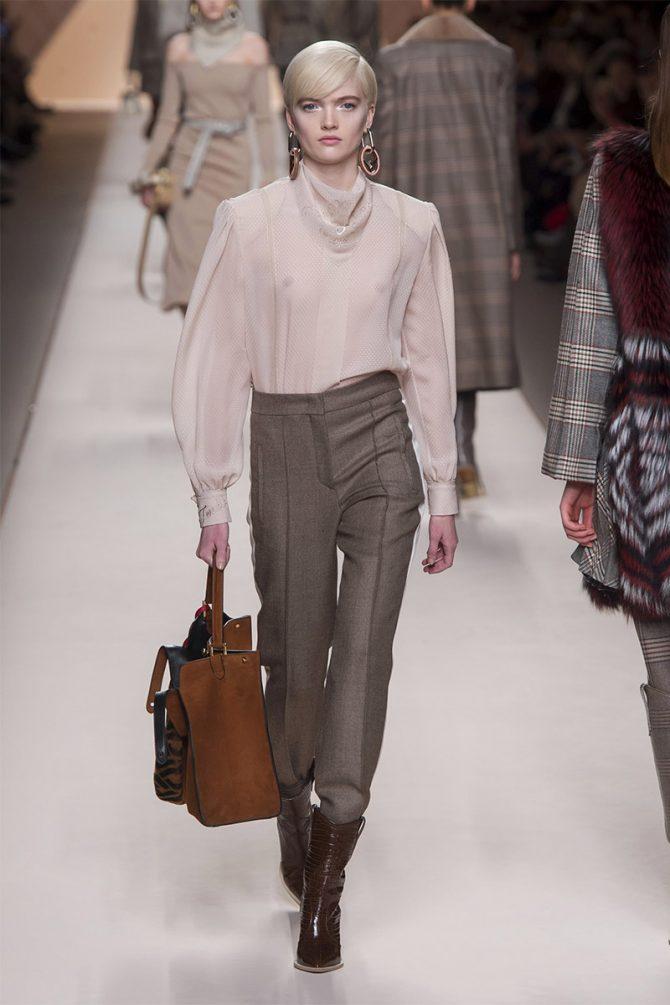 Модни панталони_ есен_ зима_ 2019_fendi