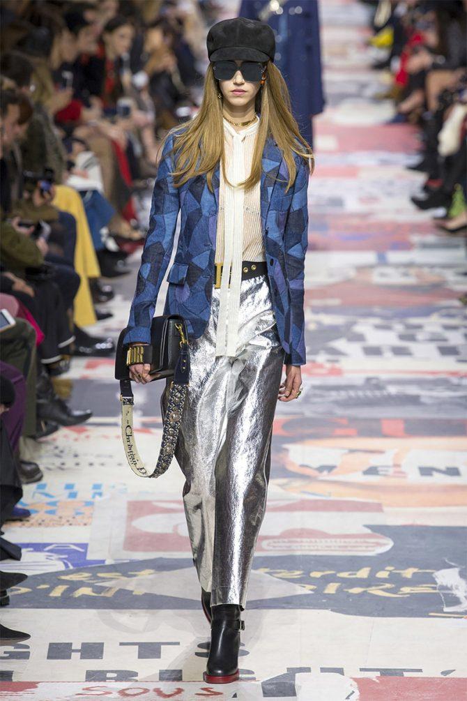 Fashion_ trousers_ fall_winter_ 2019_metallik_christian_dior