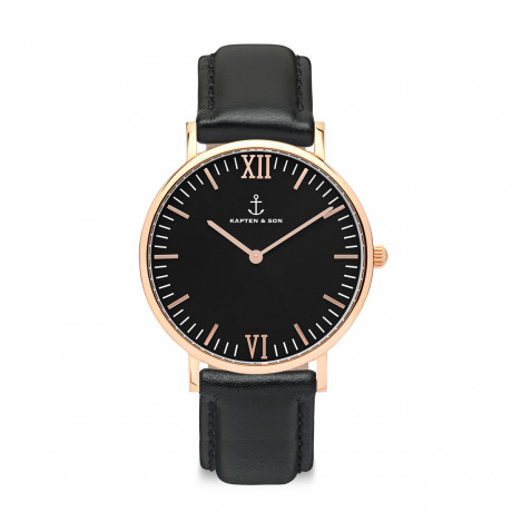 kapten_and_son_watch_campus_rosegold_all_black_leather_strap_front_beautysummary-888