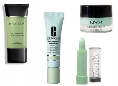 How to apply color correctors and concealers-3