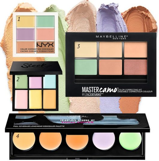 How to apply color correctors and concealers-6