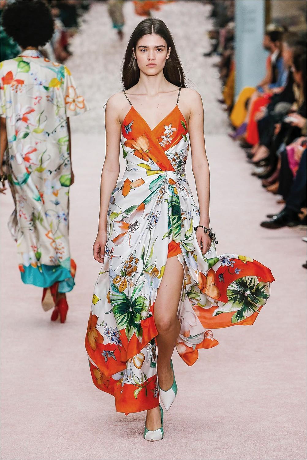 Carolina Herrera Wrap Dress