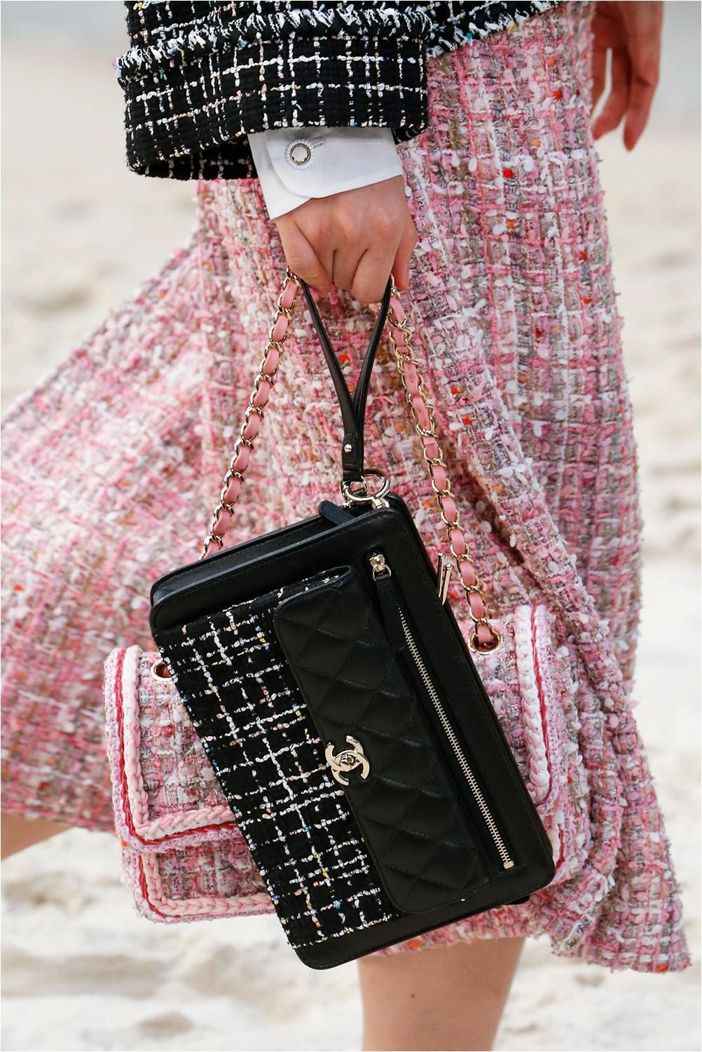 Чанта ръчна шанел