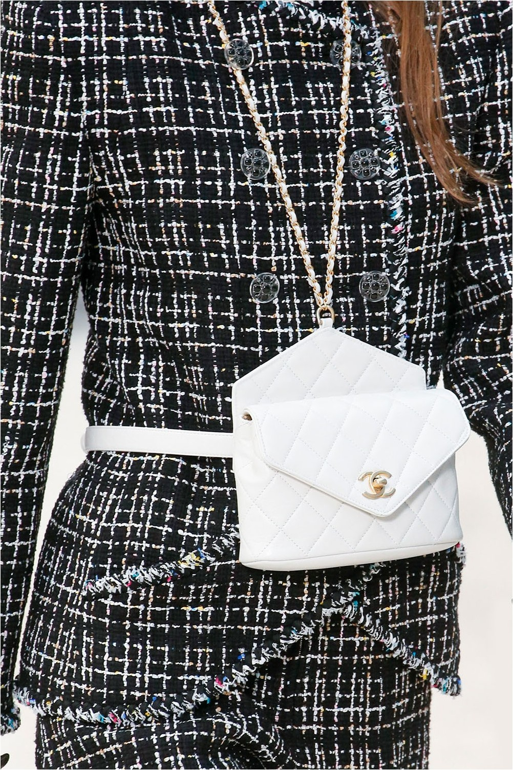 Чанта за колан Chanel