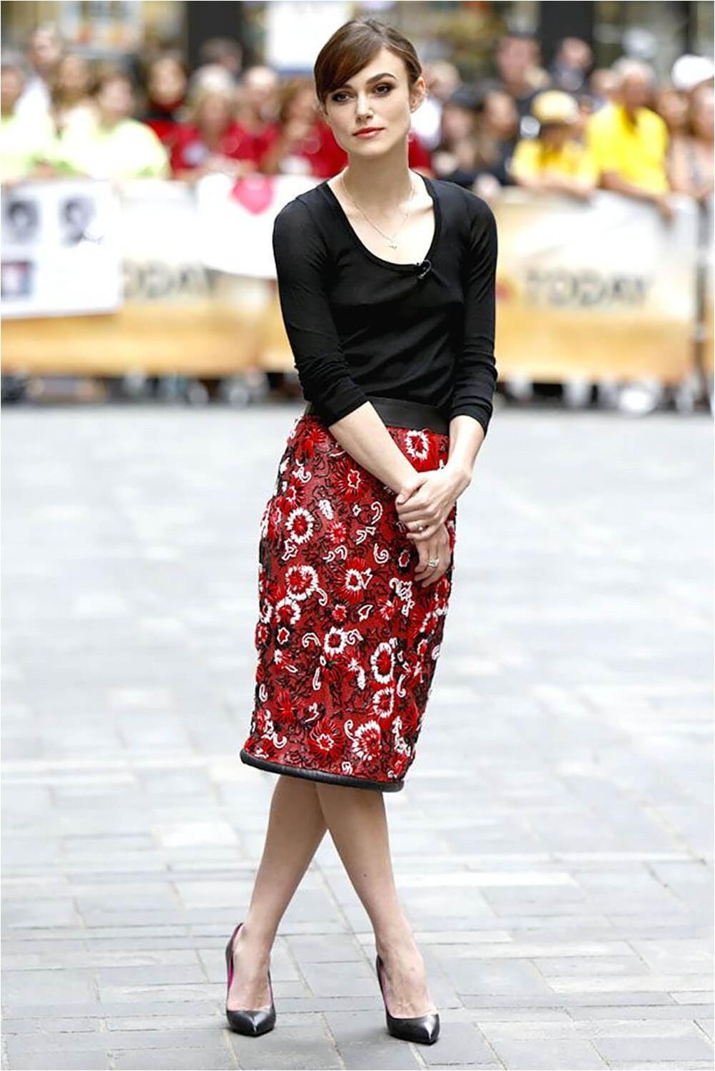 Rectangle pencil skirt