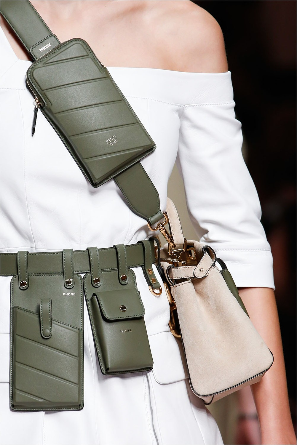 Чанта Fendi Crossbody