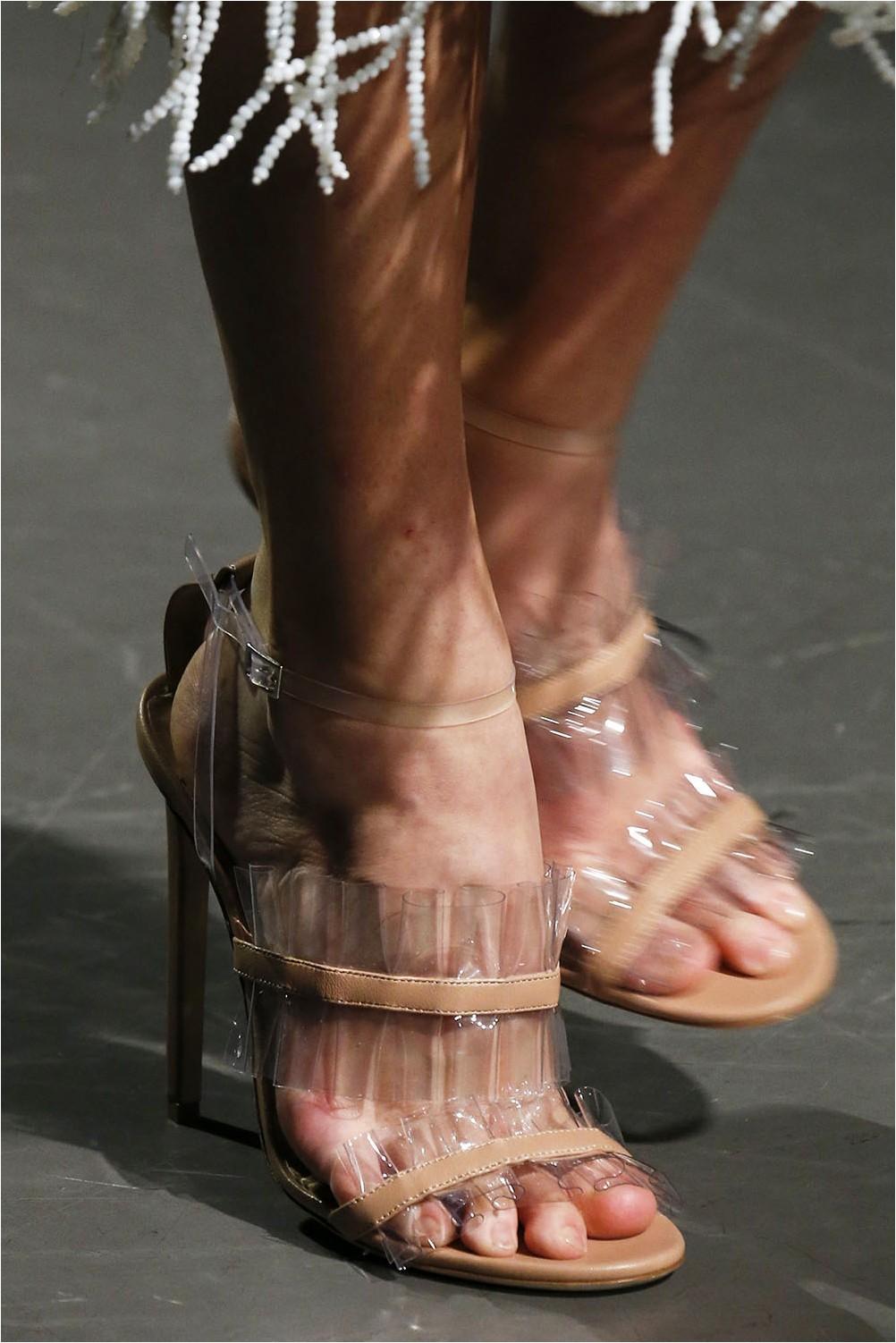 See-through shoes Mary Katrantzou