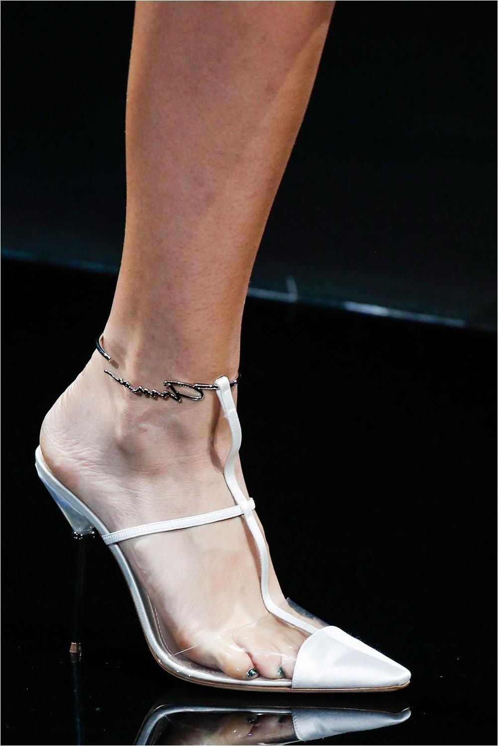 See-through shoes Giorgio Armani