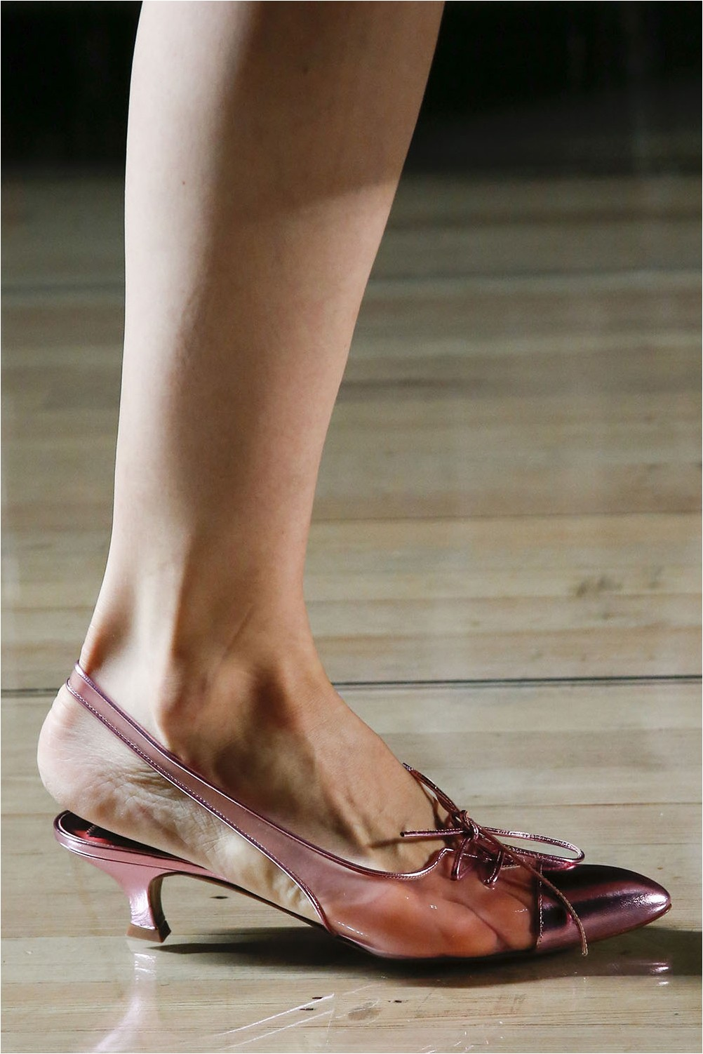 See-through shoes Marc Jacobs